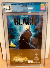 Load image into Gallery viewer, Black #1 Black Mask Variant B 1st Appearance of Kareem Jenkins CGC 9.8 (2016)