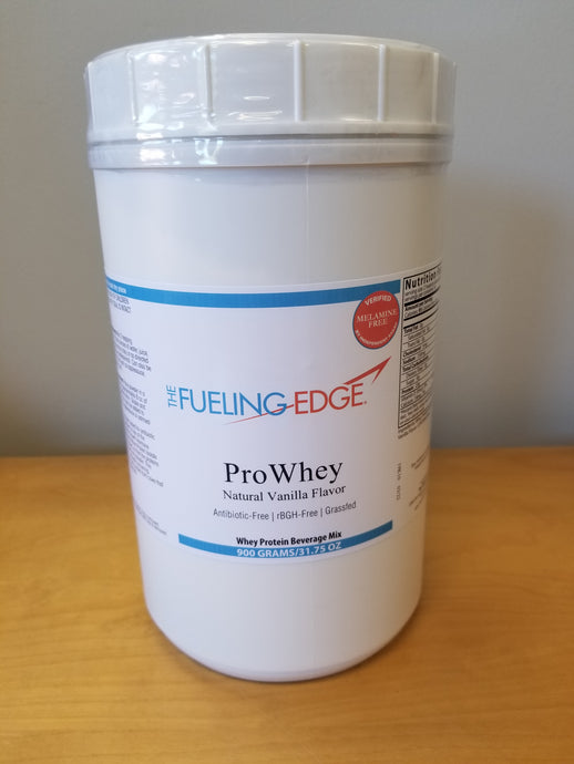 ProWhey Grass-fed Natural Vanilla Protein Powder