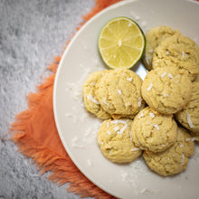 Load image into Gallery viewer, Coconut Lime Sugar Energy Cookies