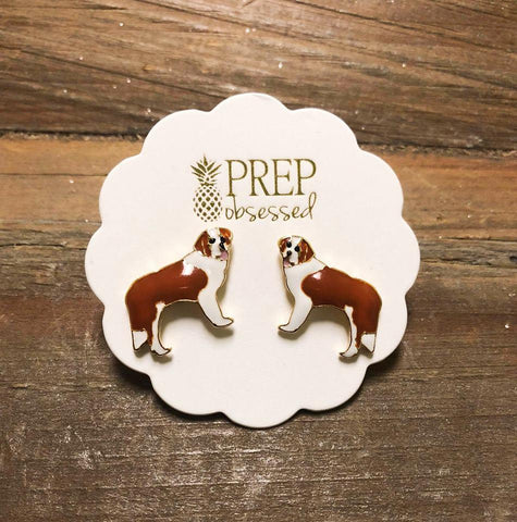 Saint Bernard Earrings