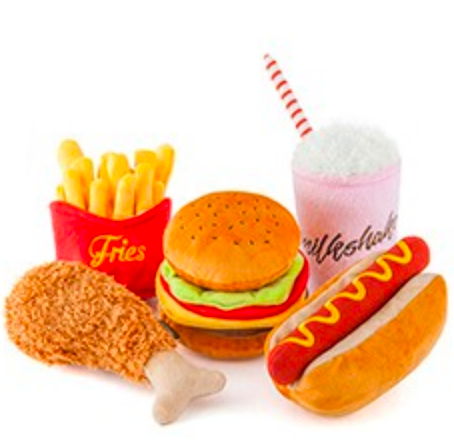 Mini Fast Food Toys