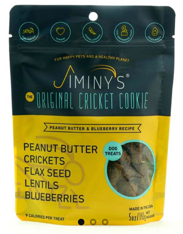 Jiminy's PB + Blueberry Treats 5oz