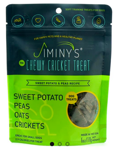 Jiminy's Peas and Sweet Potato 6oz