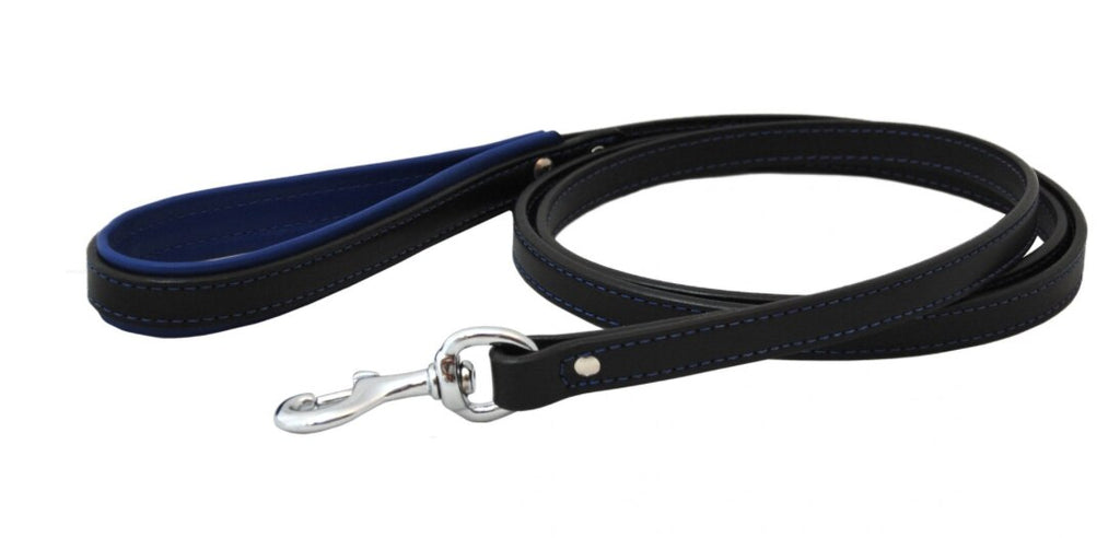Padded Handle Leather Leash