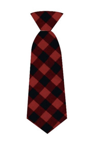 Buffalo Check Neck Tie