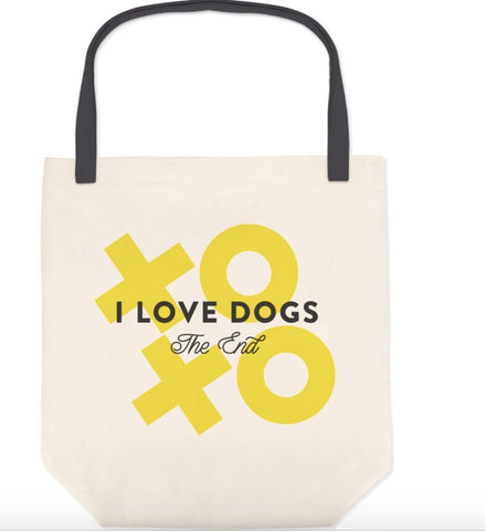 I Love Dogs Tote