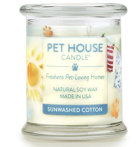 Sunwashed Cotton Candle
