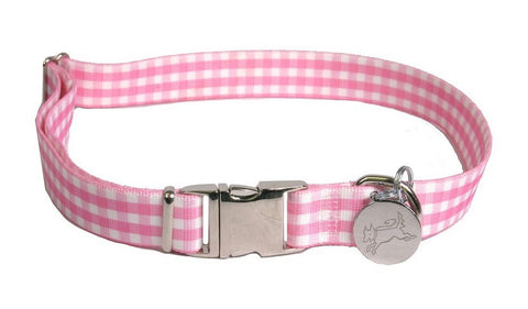 Southern Dawg Pink Gingham