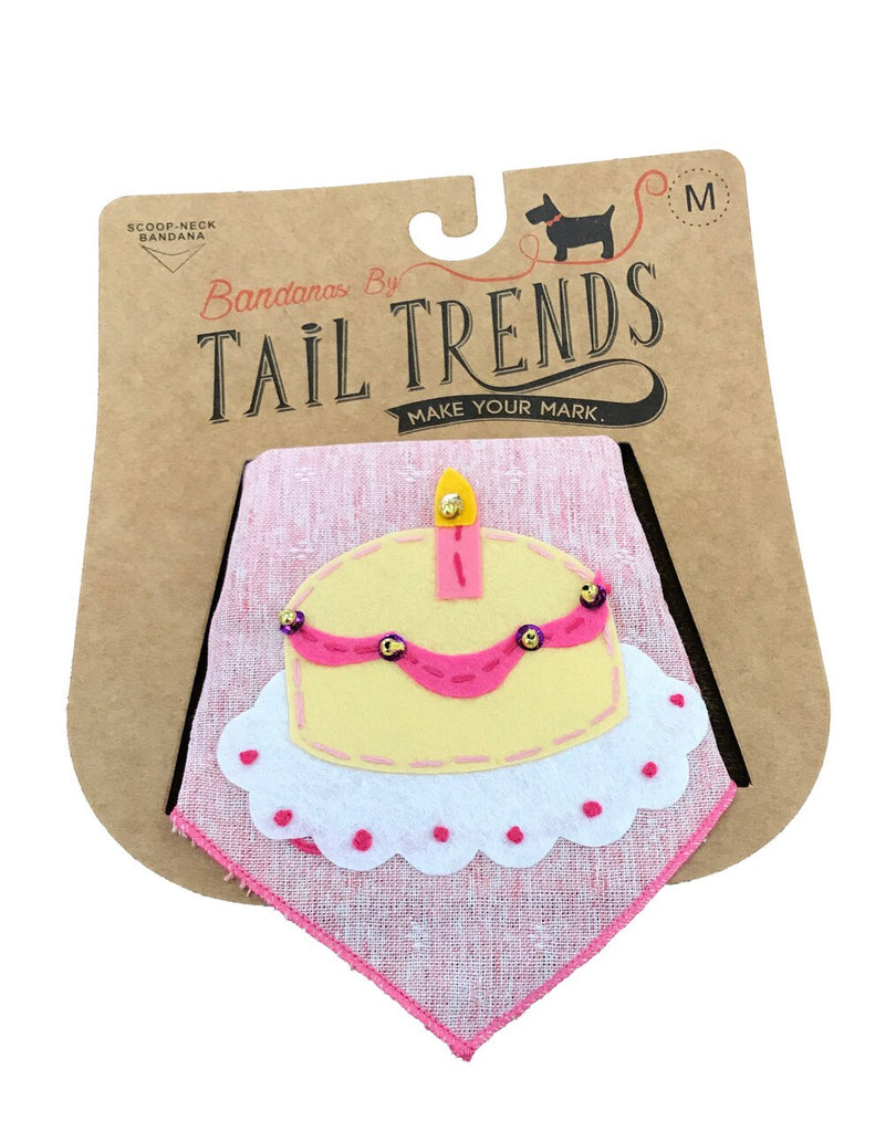 Birthday Cake Girl Bandana