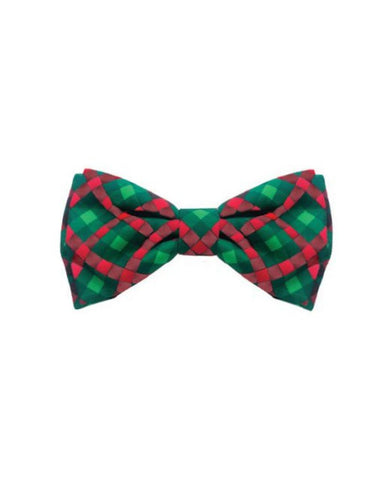 Scottish Check Bowtie