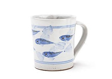 Painted Fish Mug