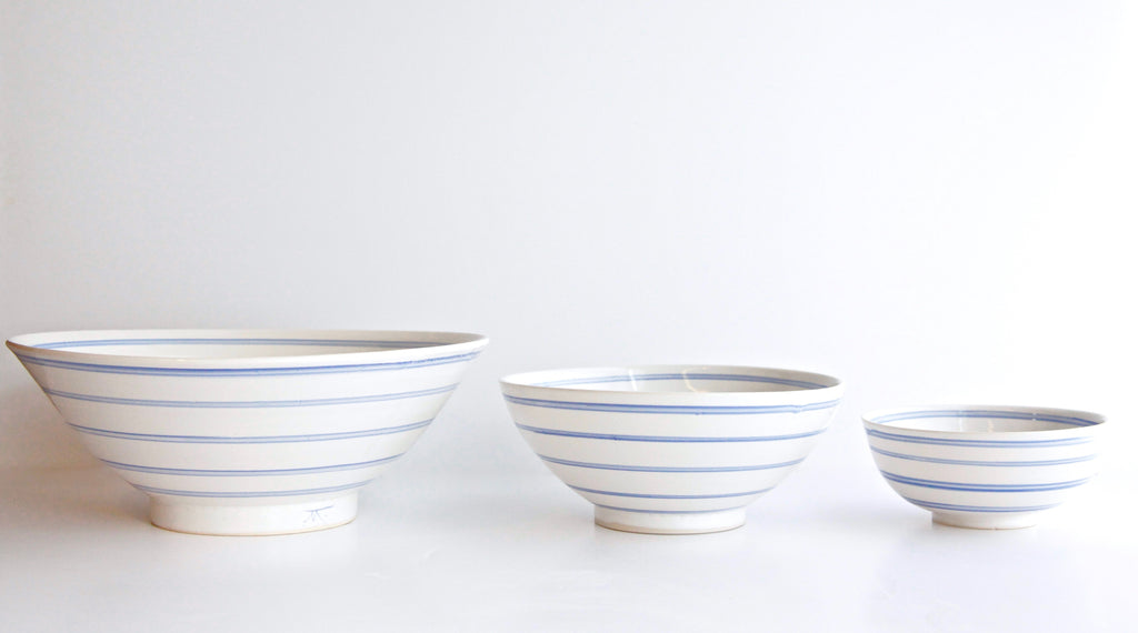 Painted Stripes Bowl