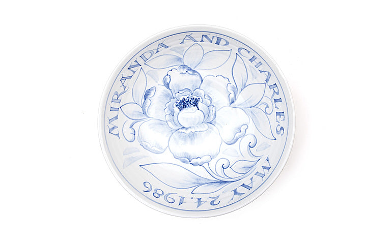 "Inscribed Commemorative 9"" Bowl (email or call to order)"