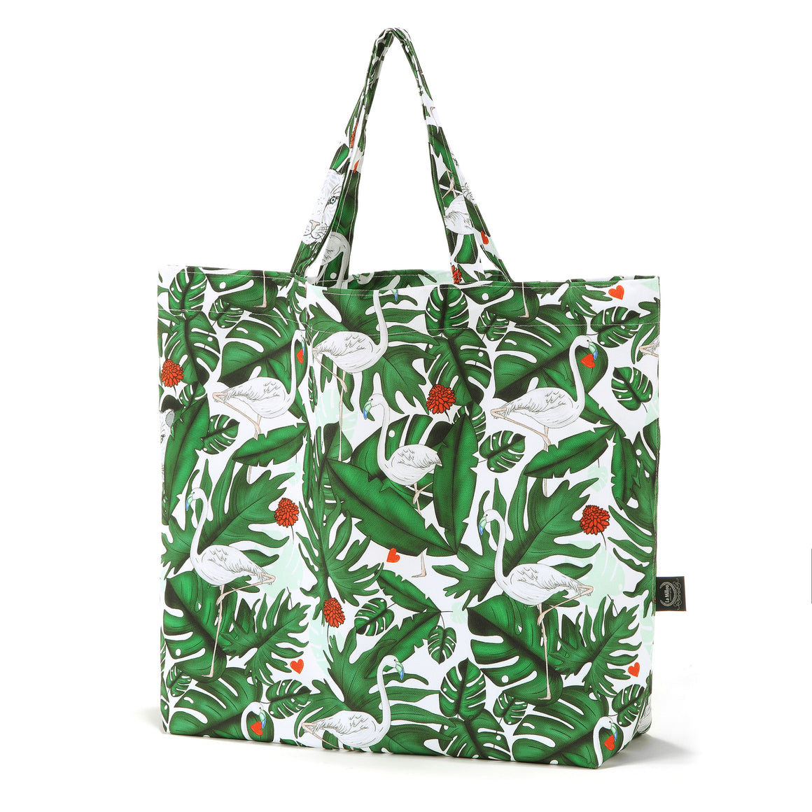 SHOPPER BAG for summer - Evergreen Tiger