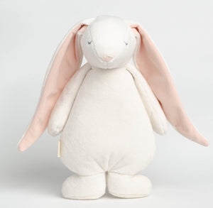 MOONIE THE HUMMING FRIEND - White | Powder Pink
