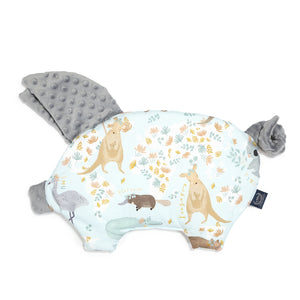 SLEEPY PIG baby pillow - Dundee & Friends Blue | Grey