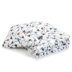 BEDDING WITH FILLING 2in1 vuodevaatesetti (koko M) - Jurassic & Jurassic Bones