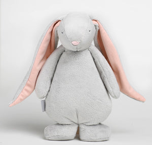 MOONIE THE HUMMING FRIEND - Grey | Powder Pink
