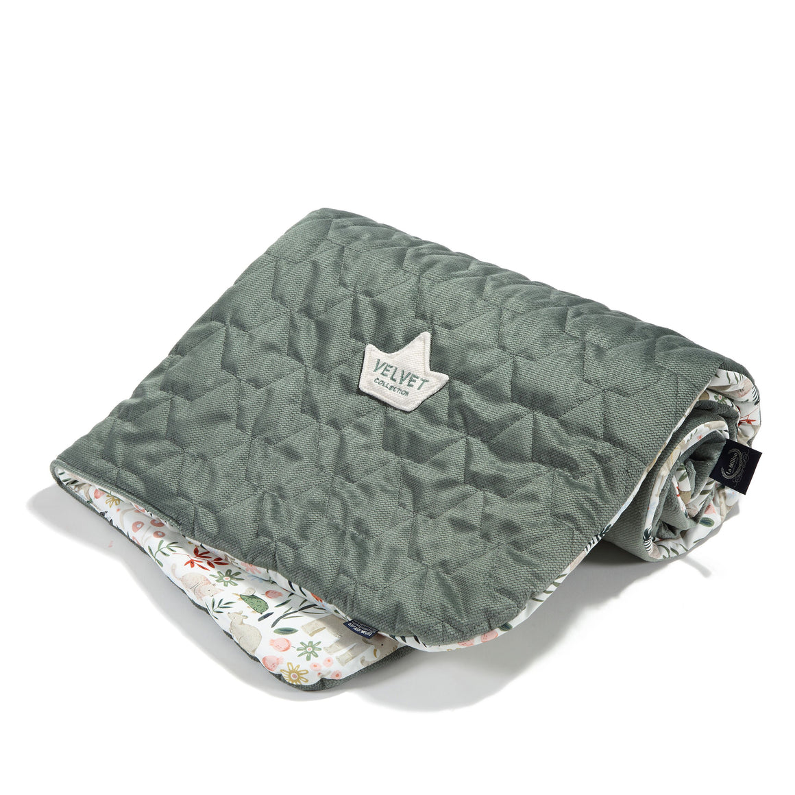 MEDIUM BLANKET - La Millou Zoo | Velvet Khaki