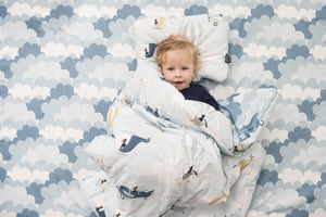 BEDDING WITH FILLING 2in1 vuodevaatesetti (koko M) - Captain Adventure