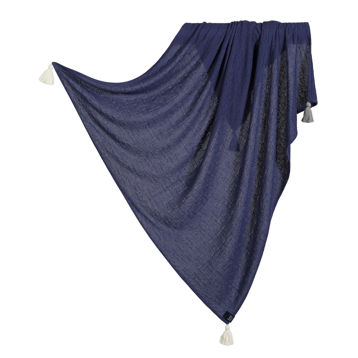 BAMBOO TENDER BLANKET viltti - Midnight Sky
