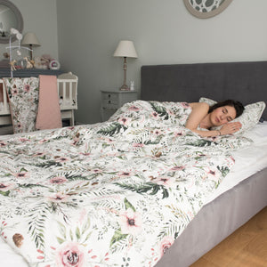 BEDDING WITH FILLING 2in1 vuodevaatesetti (koko XL) - #ilovepanda
