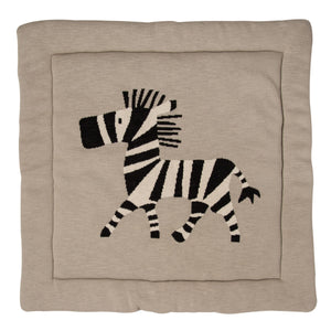 KNITTED PLAY CARPET leikkimatto - Zebra
