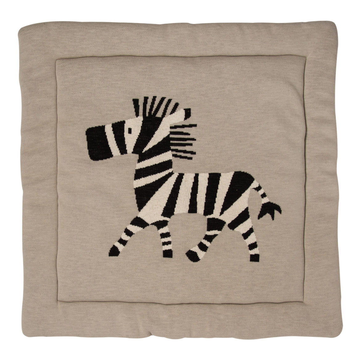 QUAX KNITTED PLAY CARPET leikkimatto - Zebra