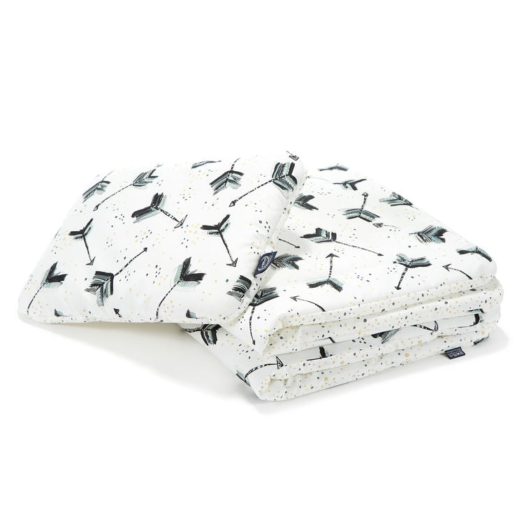 "BEDDING WITH FILLING 2in1 (baby ""M"" size) - Boho Royal Arrows"