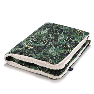 MEDIUM BLANKET peitto 80x100 cm - Botanical | Ecru