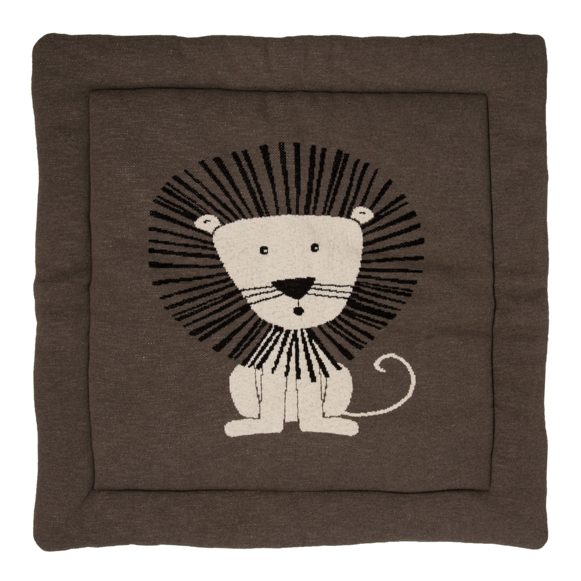 QUAX KNITTED PLAY CARPET - Lion