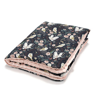 MEDIUM BLANKET peitto - Magic Owl | Powder Pink