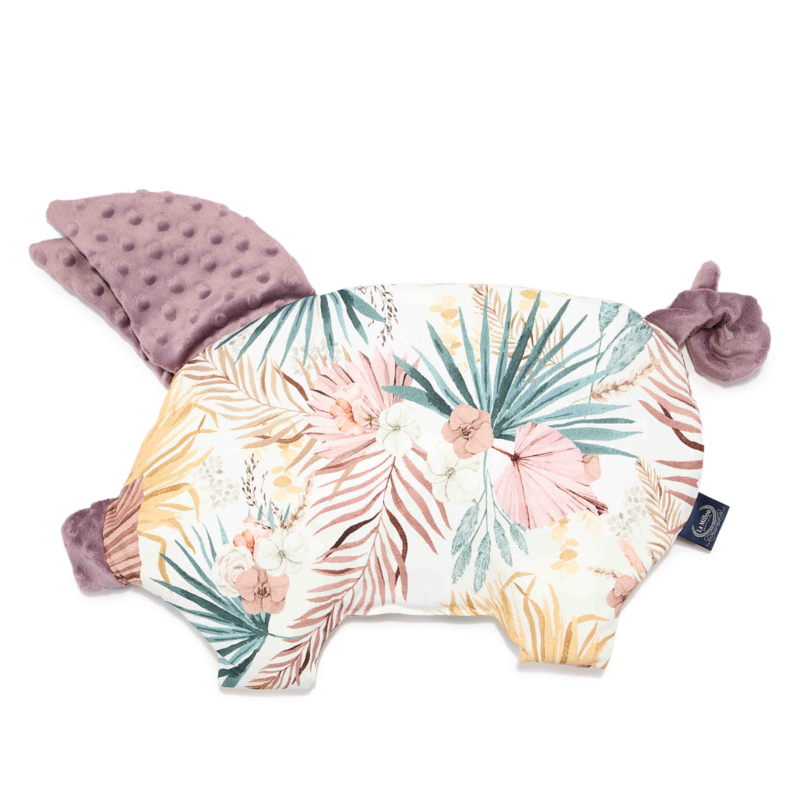 SLEEPY PIG baby pillow - Boho Palms Light | Lavender