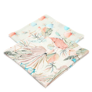 MUSLIN SWADDLE (2-pack) 100% bamboo - Boho Girl & Boho Shells