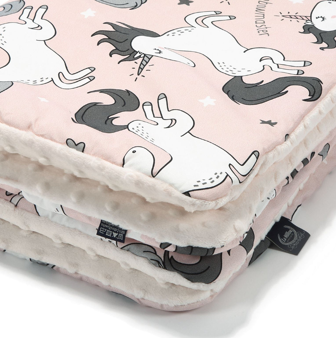 MEDIUM BLANKET - Unicorn Sugar Babe | Ecru
