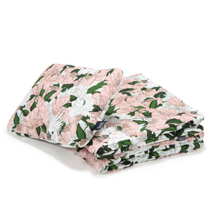 BEDDING WITH FILLING 2in1 vuodevaatesetti (koko M) - Lady Peony & Lady Peony White
