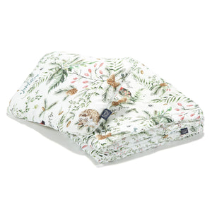 BEDDING WITH FILLING 2in1 vuodevaatesetti (koko M) - Forest