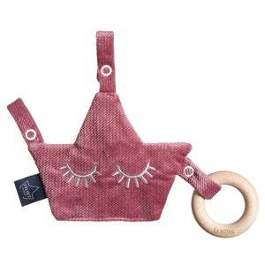 COMBO PACIFEIR ecological teether - Velvet Mulberry