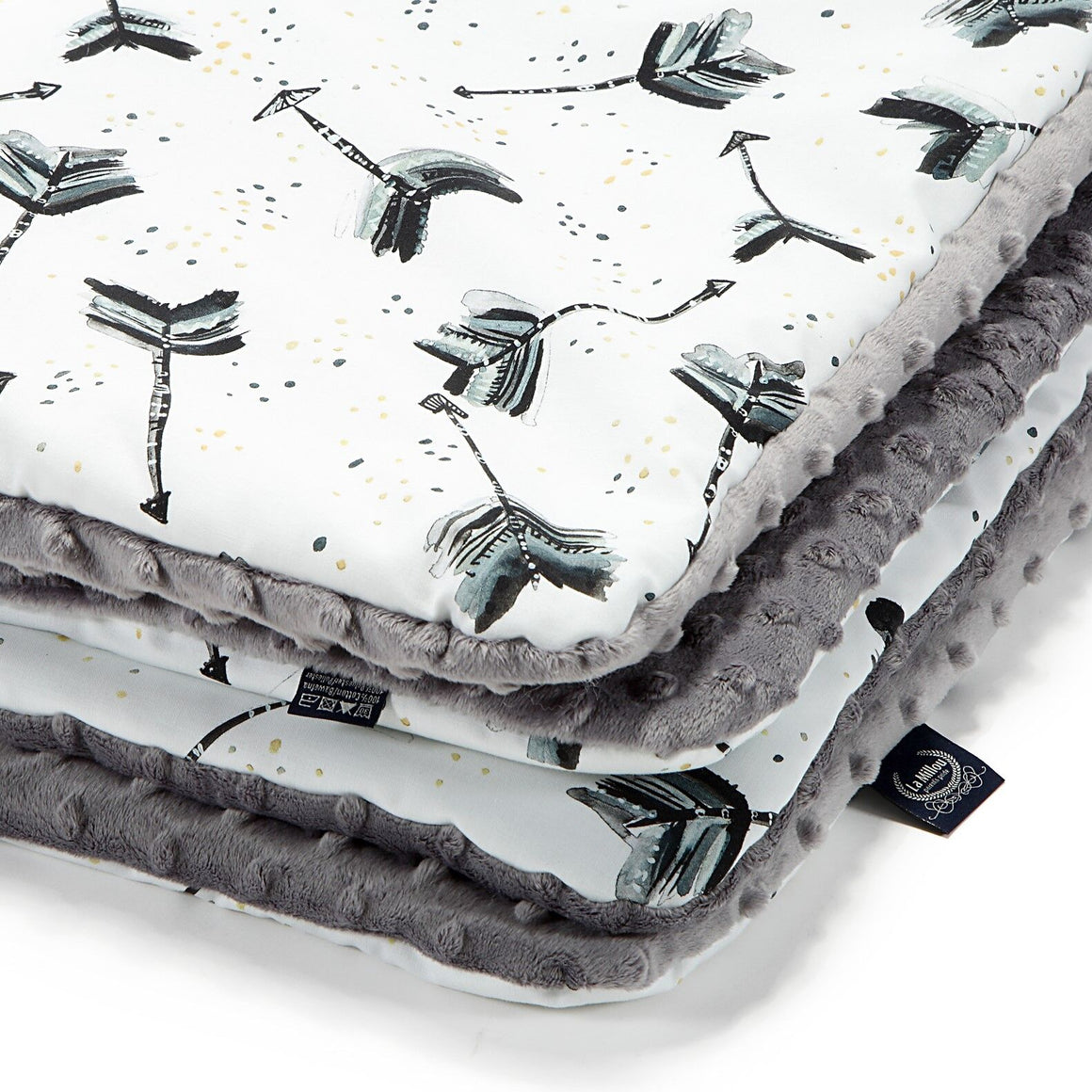 MEDIUM BLANKET peitto - Boho Royal Arrows | Grey