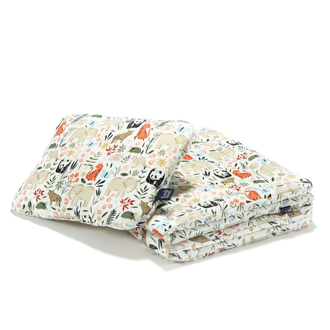 "BEDDING WITH FILLING 2in1 (baby ""M"" size) - La Millou Zoo"