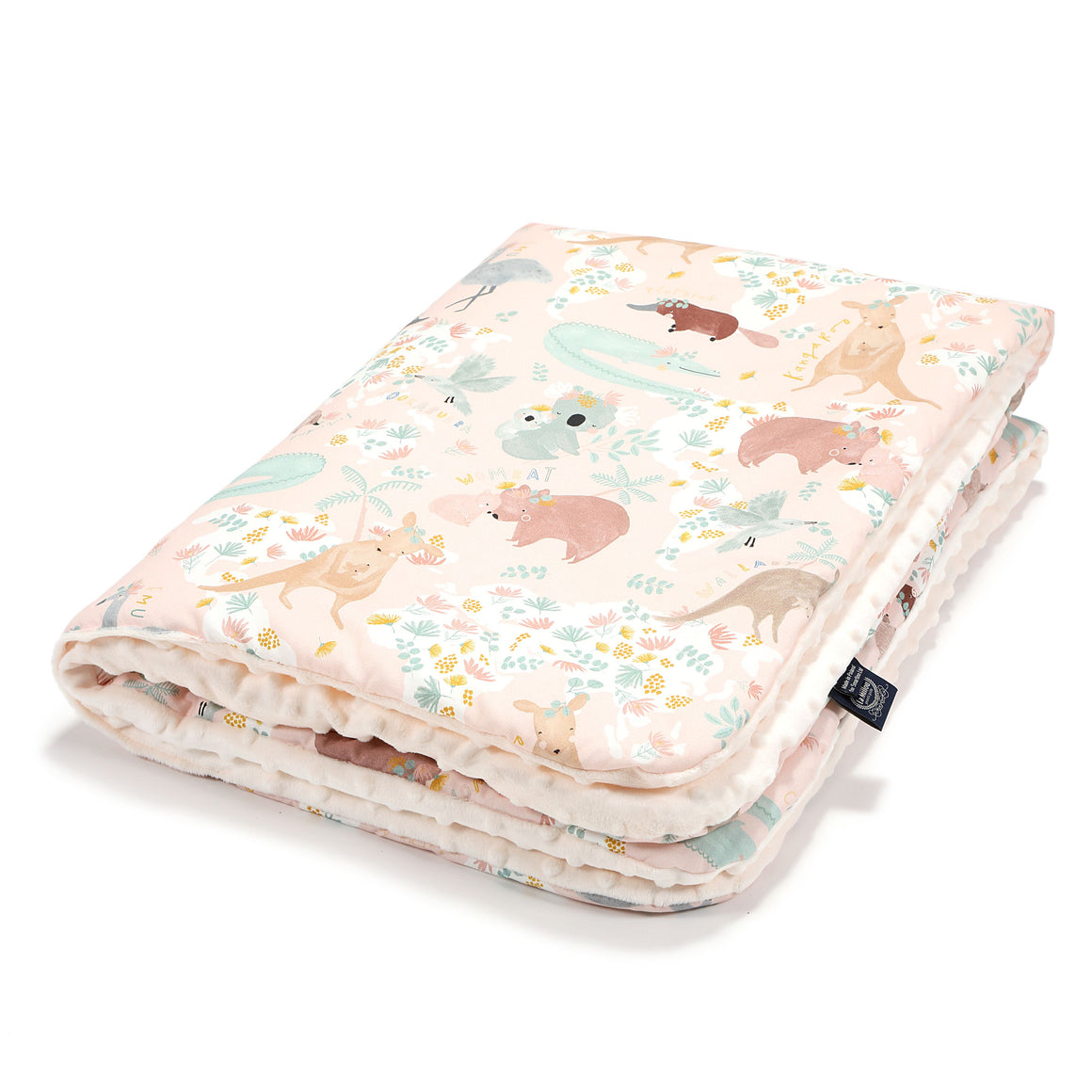 MEDIUM BLANKET peitto - Dundee & Friends Pink | Ecru