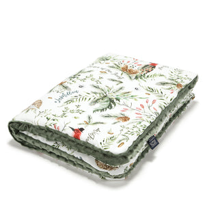 MEDIUM BLANKET peitto 80x100 cm - Forest | Khaki