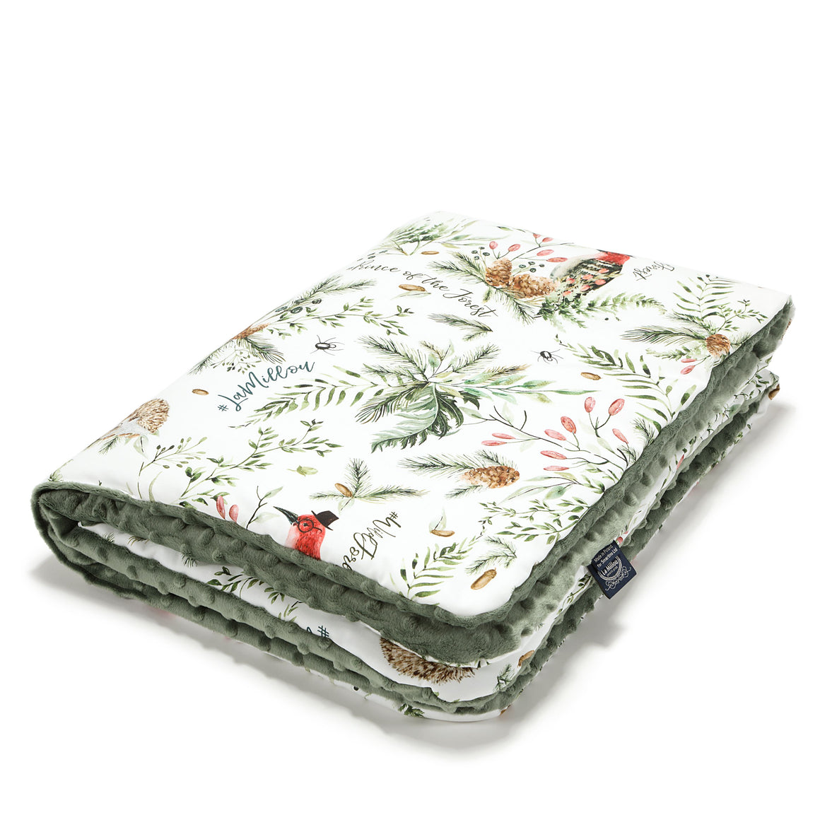 MEDIUM BLANKET - Forest | Khaki