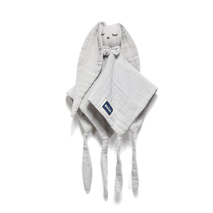 DOUDOU RABBIT 100 % COTTON MUSLIN - Stone