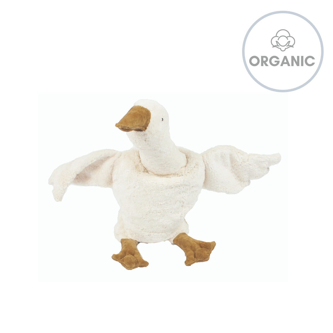 CHERRY STONE CUDDLY ANIMAL - Goose White