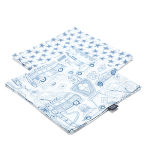 MUSLIN SWADDLE (2-pack) 100% BAMBOO cloth diapers - Route 66 | Route 66 Stars