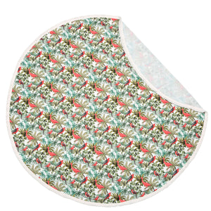 BAMBO~O ROUND SWADDLE KING SIZE light summer blanket - Jukatan