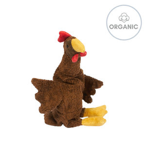 CHERRY STONE CUDDLY ANIMAL - Brown Chicken