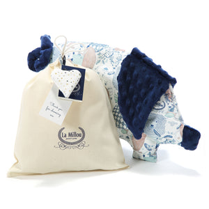 SLEEPY PIG baby pillow - Botanical | Ecru