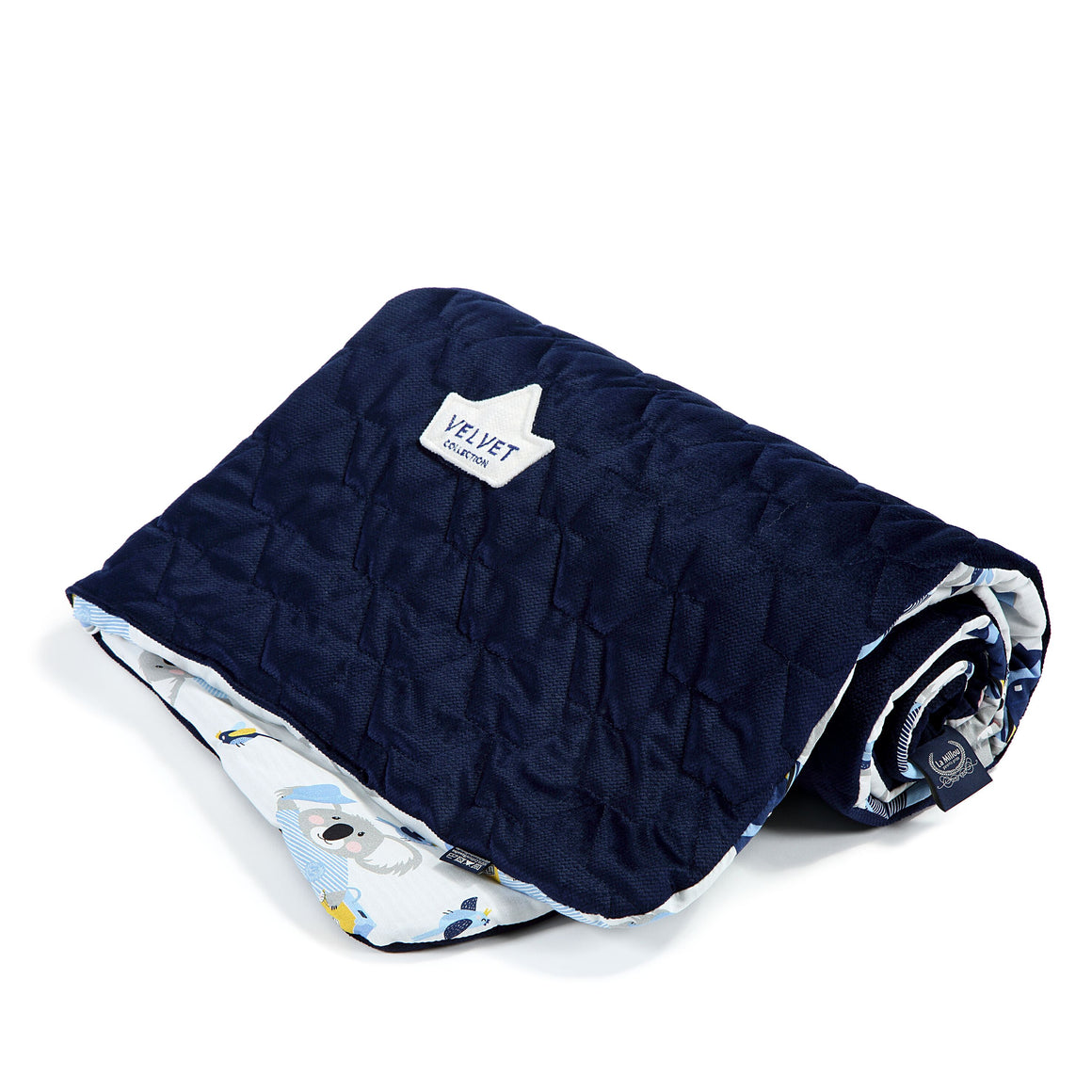 MEDIUM BLANKET peitto - Hello World | Velvet Royal Navy